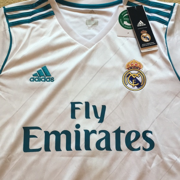 brand new 03dd0 abcce NEW 2018 Ronaldo Home Real Madrid Jersey w/ Tags NWT